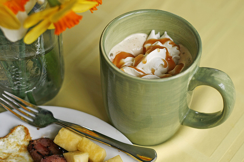 Faux Caramel Latte