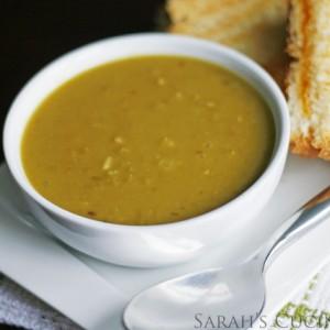 easy split pea soup