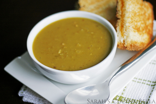 Soup for Spring: Simple, Easy Split Pea Soup