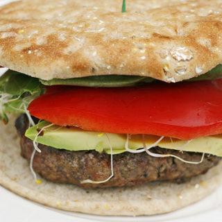 Super Veggie Beef Burger