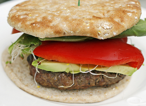 Super Veggie Beef Burger