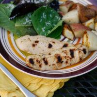 Grilled Caesar Chicken Strips