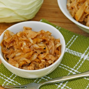 Asian Braised Cabbage