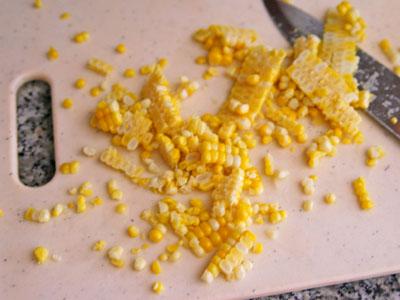 Corn Cut From the Cob