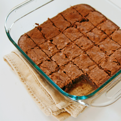 Agnes' Fudgy Brownies Recipe — Dishmaps