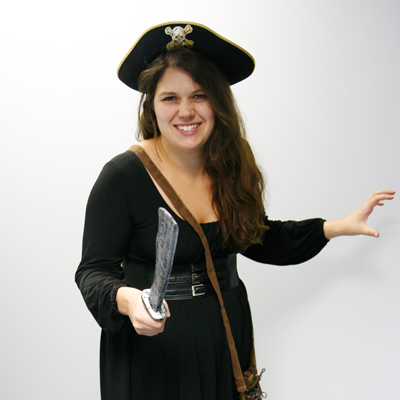 DIY Female Pirate Costume