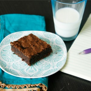 Rich Chocolate Toffee Brownies