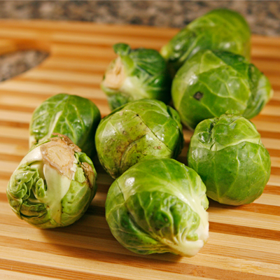 Roasted Brussels Sprouts with Walnuts and Asiago Cheese For One ...