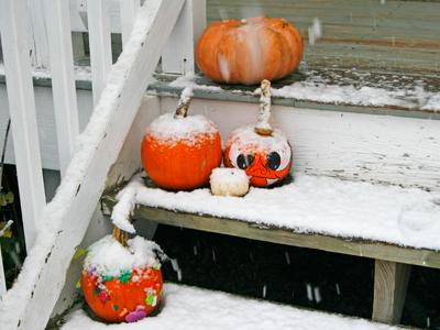 Happy (Snow Day) Halloween! - Sarah\'s Cucina Bella