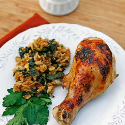 Chicken drumsticks recipes, including this one for Baked Sticky Orange Chicken Drumsticks, are a staple of meal planning in our house.