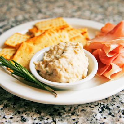 ... from Mark Bittman's recipe for Rosemary-Lemon White Bean Dip