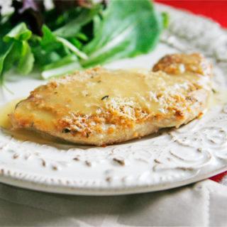 Easy, Juicy Rosemary Romano Roasted Turkey Cutlets