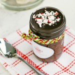 Chocolate Peppermint Cake in a Jar