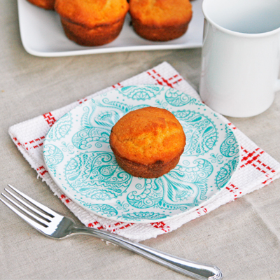 Maple Corn Muffins for Breakfast