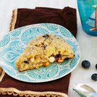 Blueberry White Chocolate Buttermilk Scones