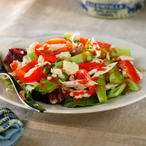 Buffalo Chicken Salad, Simplified