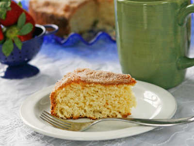 Cinnamon-Sugar Coffee Cake, A Vintage Recipe - Sarah's Cucina Bella