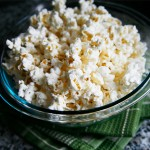 Making Easy Homemade Microwave Popcorn