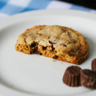 Peanut Butter Cup Whole Wheat Cookies