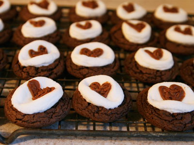 Sweetnicks' Chocolate S'mores Cookies
