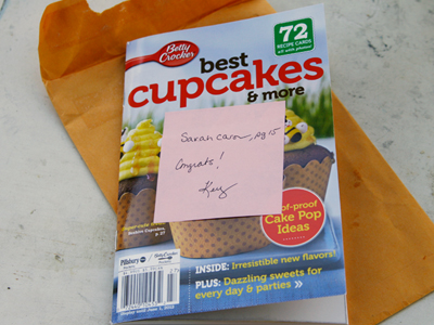 A Happy Cupcake Surprise
