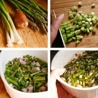 Spring Vegetable Risotto with Herbs