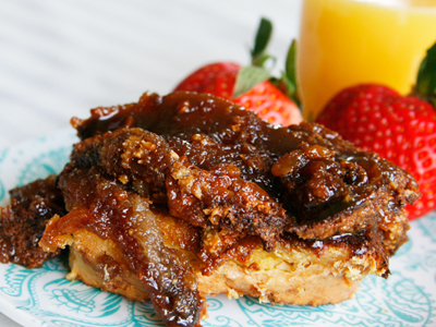 Special Occasion Overnight Creme Brulee French Toast