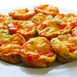 Red Pepper and Scallion Mini Frittatas