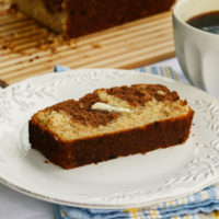 Chocolate Banana Marble Bread