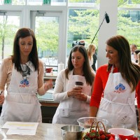 Amy and Julie from General Mills and Paula from Blogging Foods