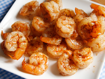 This quick and easy recipe for Sauteed Five Spice Shrimp is a kid ...