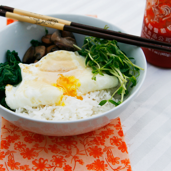 rice bowl egg