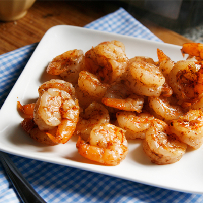 Sauteed Five Spice Shrimp