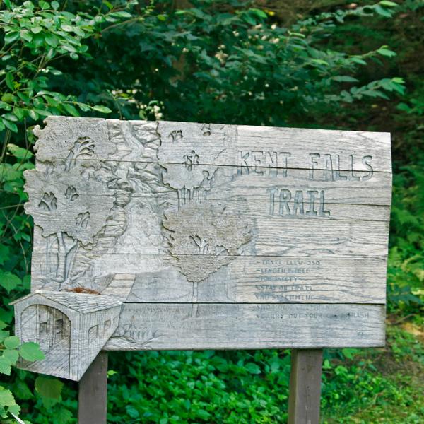 kent falls sign