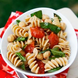 roast tomato pasta salad