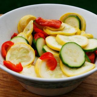 Butter Herb Grilled Summer Veggie Packets