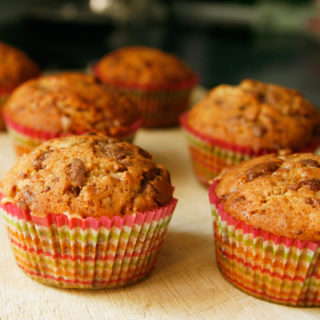 Banana Toffee Muffins