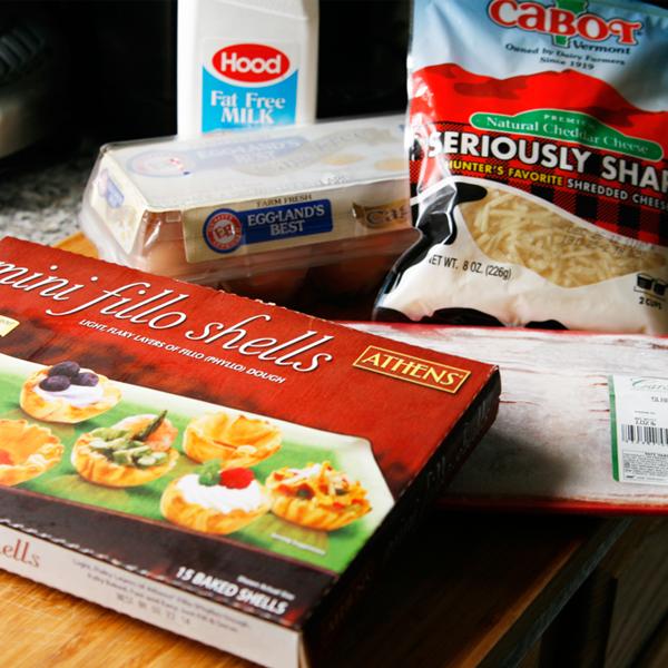Mini Bacon, Egg and Cheese Bites - Sarah's Cucina Bella