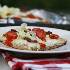 BLT Salad Pizza