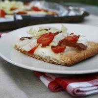 BLT Salad Pizza