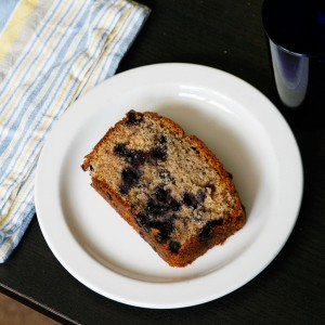 Whole Wheat Blueberry Bread