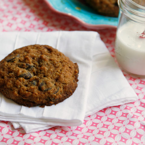 Multigrain Dark Chocolate Chip Cookies