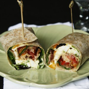 Egg Salad BLT Wraps