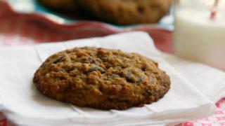 Multigrain Dark Chocolate Chip Cookies