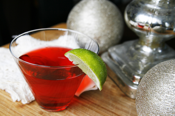 Stress-Free Thanksgiving: Cranberry Martini