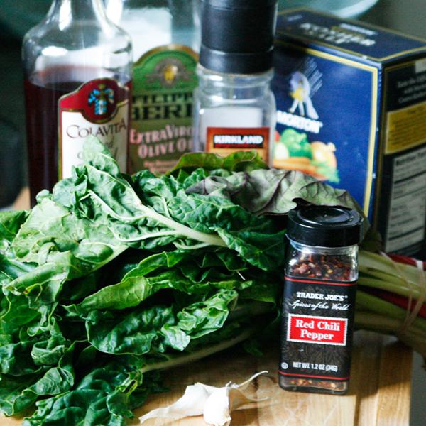 Swiss Chard Chimichurri Sauce - Sarah's Cucina Bella