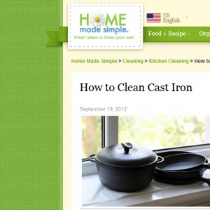 Got Cast Iron?