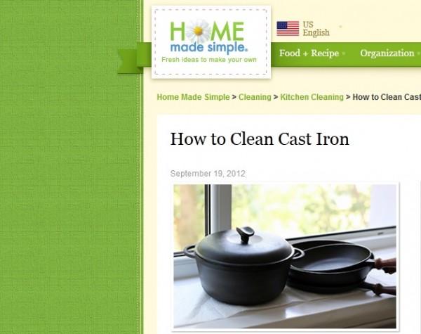 Got Cast Iron?