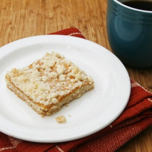 After School Treat: Pumpkin Crumb Bars