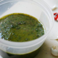 Swiss Chard Chimichurri Sauce
